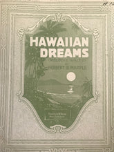 Hawaiian Sheet Music: 'Hawaiian Dreams'