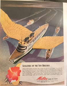 Vintage Ad for Matson Cruise Line