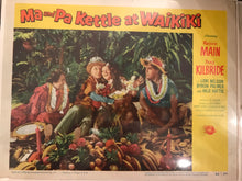 "Set of 8 Lobby Cards From ""Ma and Pa Kettle at Waikiki"""