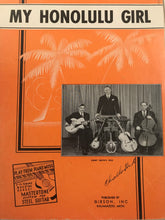 Hawaiian Sheet Music: 'My Honolulu Gal'