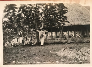 1925 Vintage Photograph of Fleet Cameramen Get Pictures Fo Folks At Home Samoa