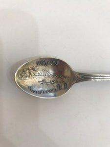 Collectible Waikiki Beach Honolulu Hawaii Silver Spoon