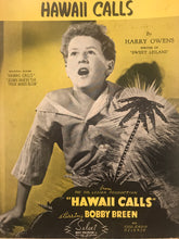 Hawaiian Sheet Music: 'Hawaii Calls'