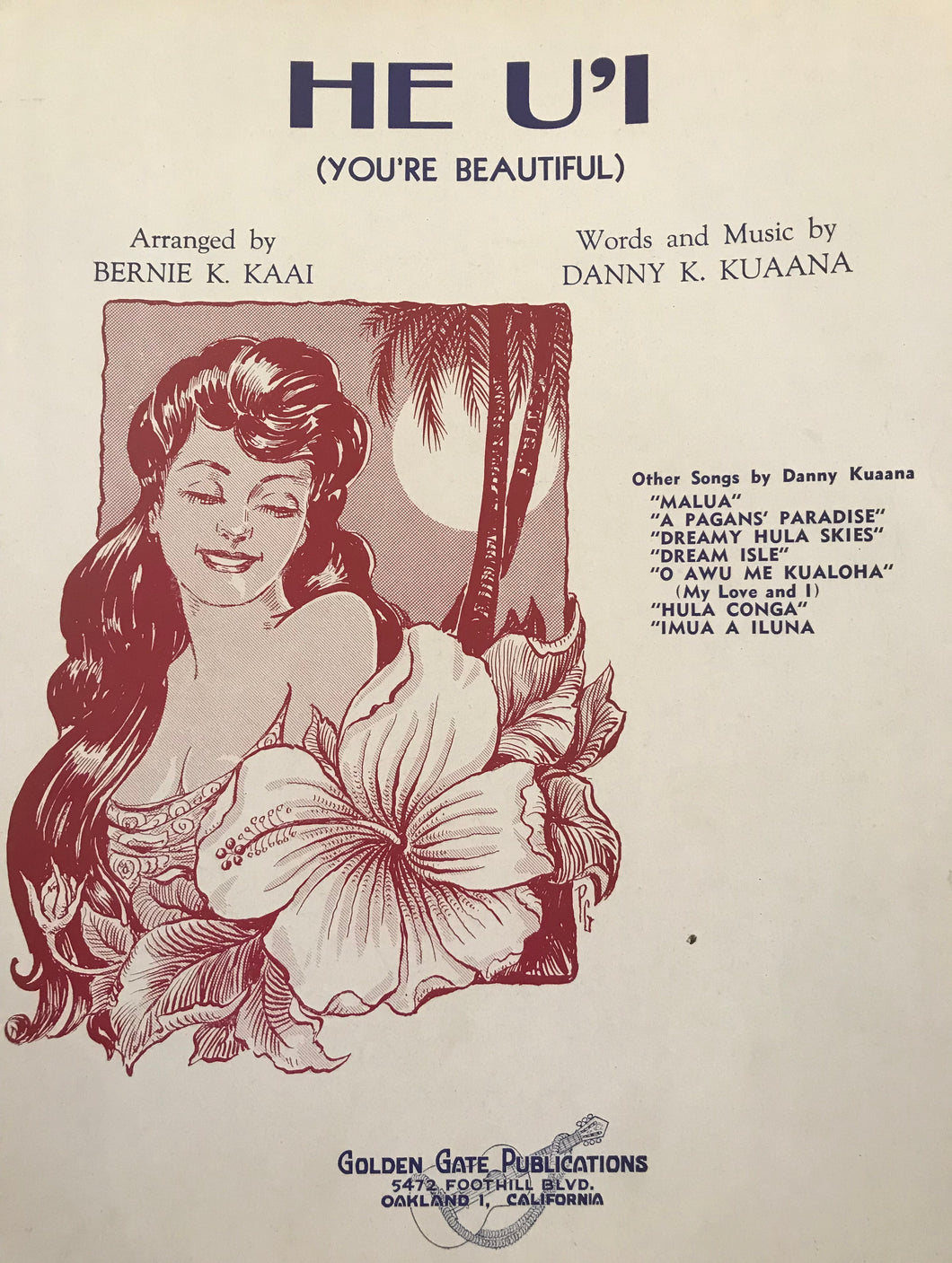 Hawaiian Sheet Music