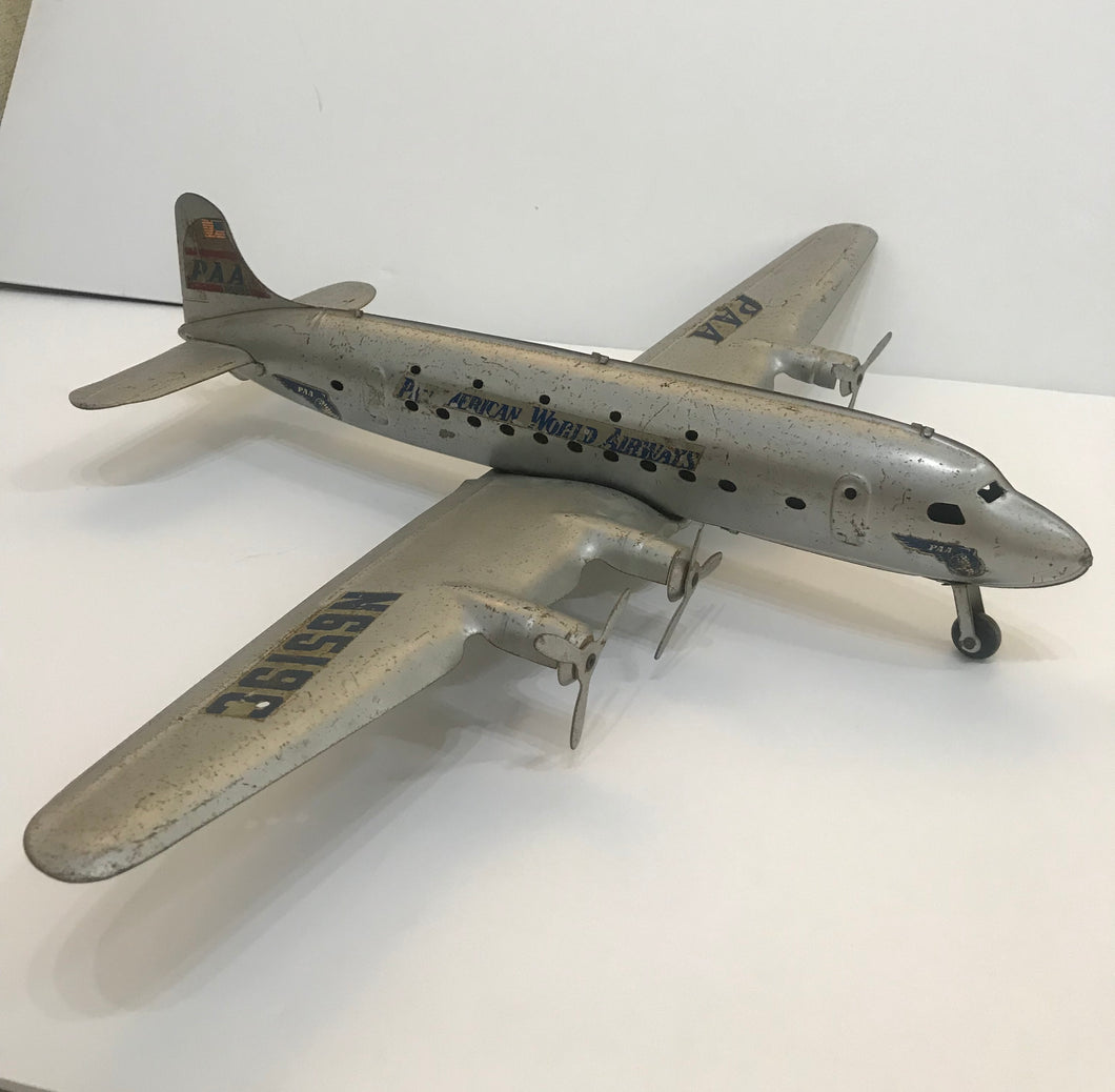 1950's Rare Pan Am Metal Toy Airplane N6519C