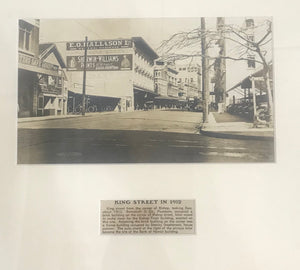 1912 Vintage Photograph Of King Street, Honolulu Hawaii