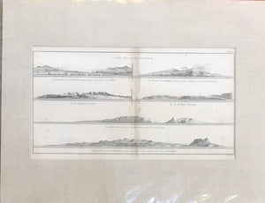 Vue Des Isles Sandwich, Hawaii, 1784 Engraving From Cooks 3rd Voyage
