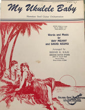 Hawaiian Sheet Music: 'My Ukulele Baby'