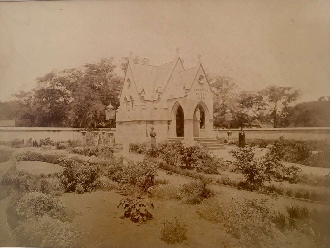 Royal Mausoleum  Albumen Photo Circa 1885
