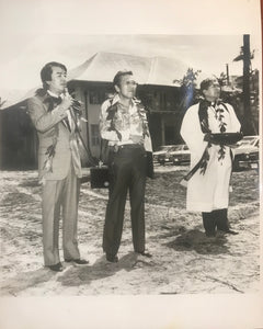 1981 Photo Of The Halekulani Hotel Blessing & Groundbreaking