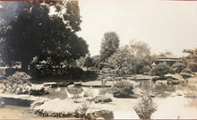 Vintage Photograph By R.W. Oakes Of Japanese Gardens, Honolulu  Hawaii