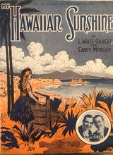 Hawaiian Sheet Music: 'My Hawaiian Sunshine'