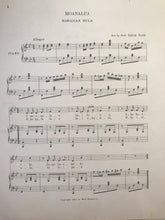 Hawaiian Sheet Music: 'Moanalua'