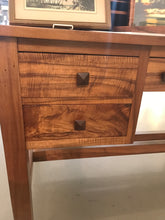 1920s Curly Koa Arts & Crafts Desk