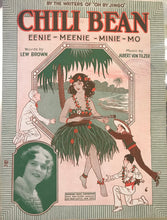 Hawaiian Sheet Music: 'Chili Bean - Eenie-Meenie-Minie-Mo'