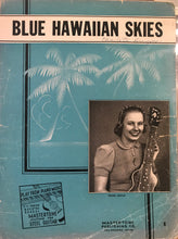Hawaiian Sheet Music: 'Blue Hawaiian Skies'