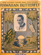 Hawaiian Sheet Music: 'Hawaiian Butterfly'