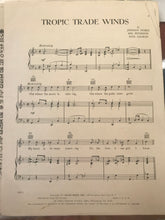 Hawaiian Sheet Music: 'Tropic Trade Winds'