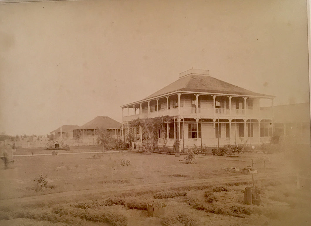 Oahu Albumen Photo (circa 1885)
