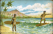 Surfing postcard063