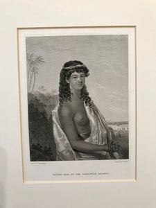 1826 Original Voyage of the Blonde Aquatint