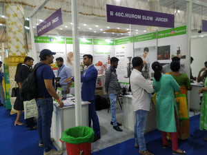 Hurom's 2nd participation at Food and Hospitality World Expo 2019 - Bengaluru