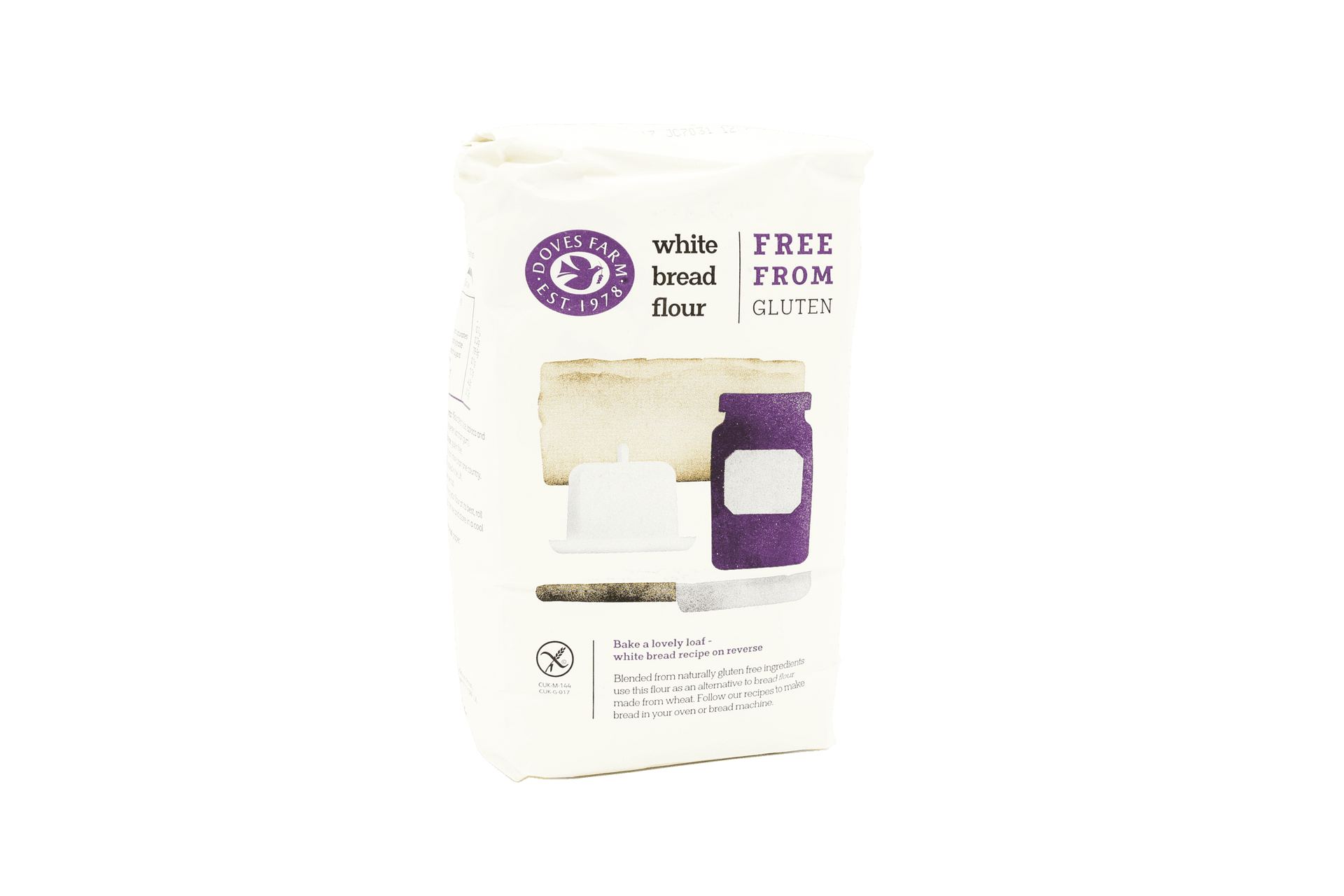 White bread flour