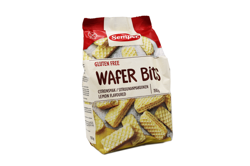 Wafer bites citroen