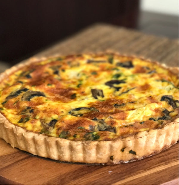 A Flaky Foolproof Pie Crust Recipe For A Perfect Quiche!