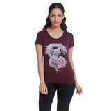Womens Graphic T-Shirt: Creator of Legends