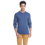 Mens Full Sleeve Henley T-Shirt