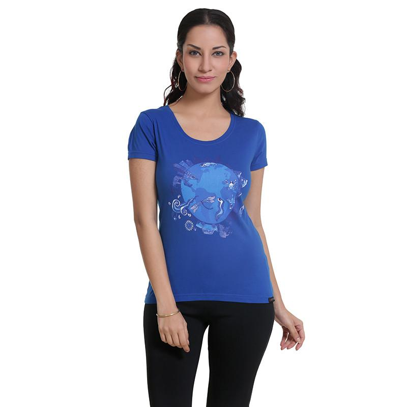 Womens Graphic T-Shirt: Earth