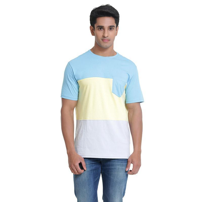 Mens Cut and Sew T-Shirt