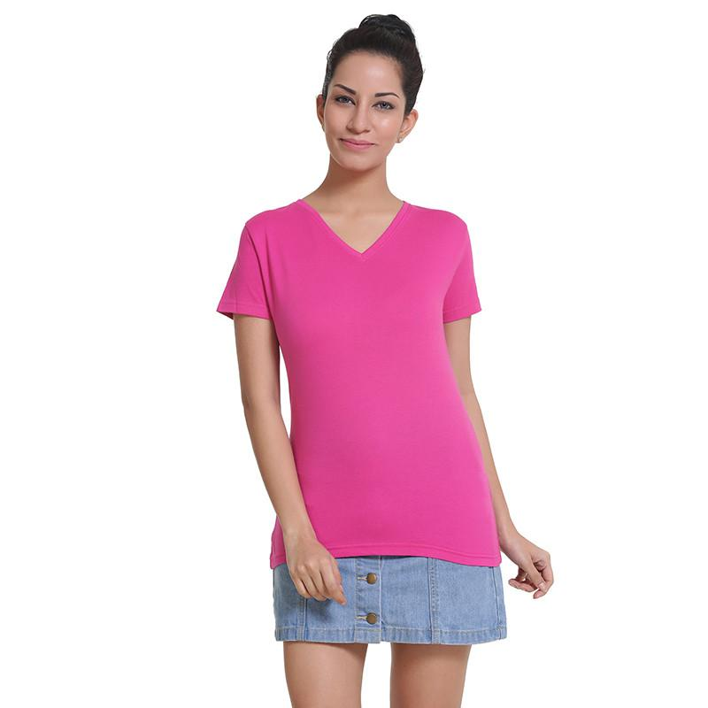 Womens V Neck T-Shirt