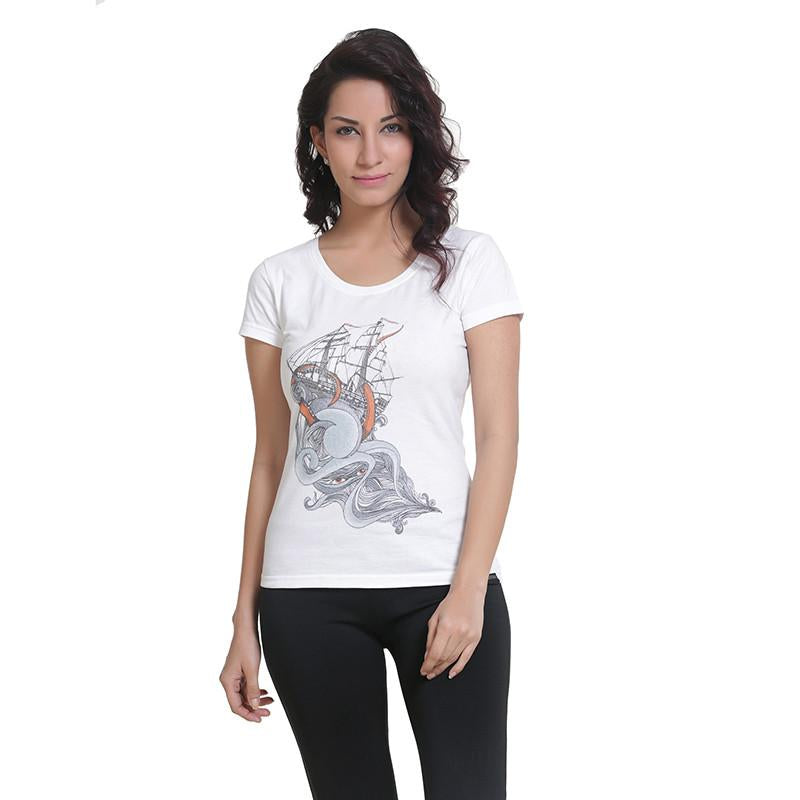 Womens Graphic T-Shirt: Water