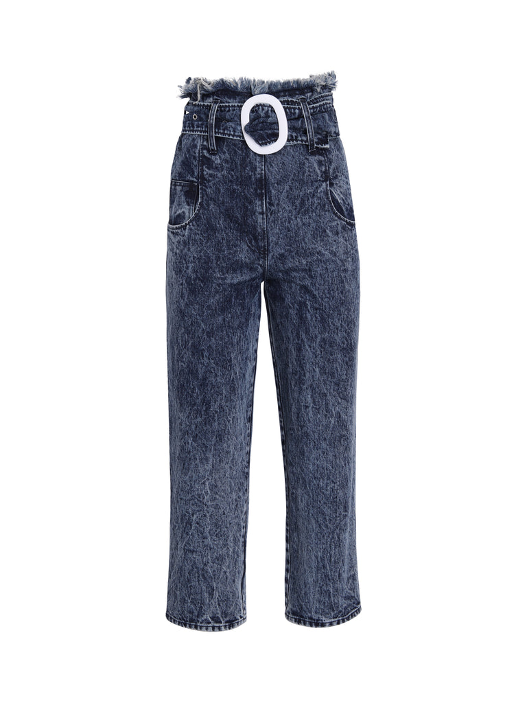 Pantalon Ziggy - Denim Snow Washed