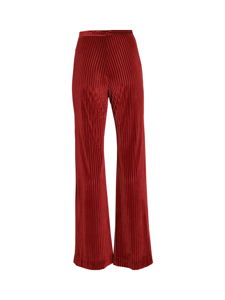 Pantalon Moody - Velours Rouge