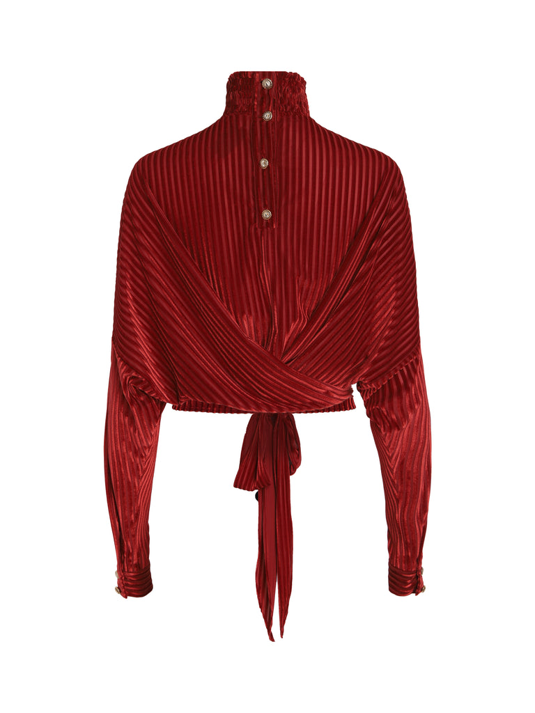 Blouse Argan - Rouge