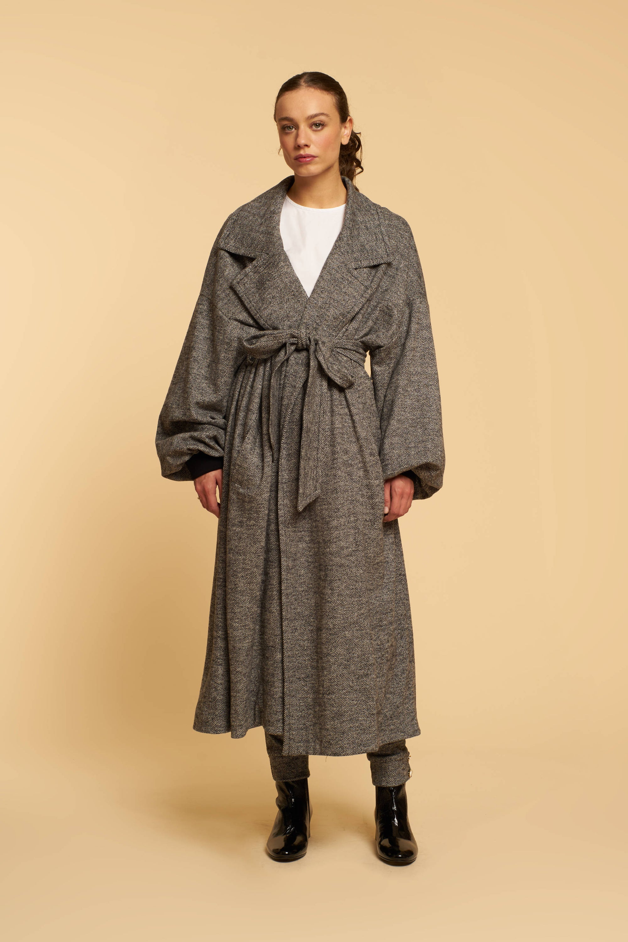 Manteau Grey - Tweed