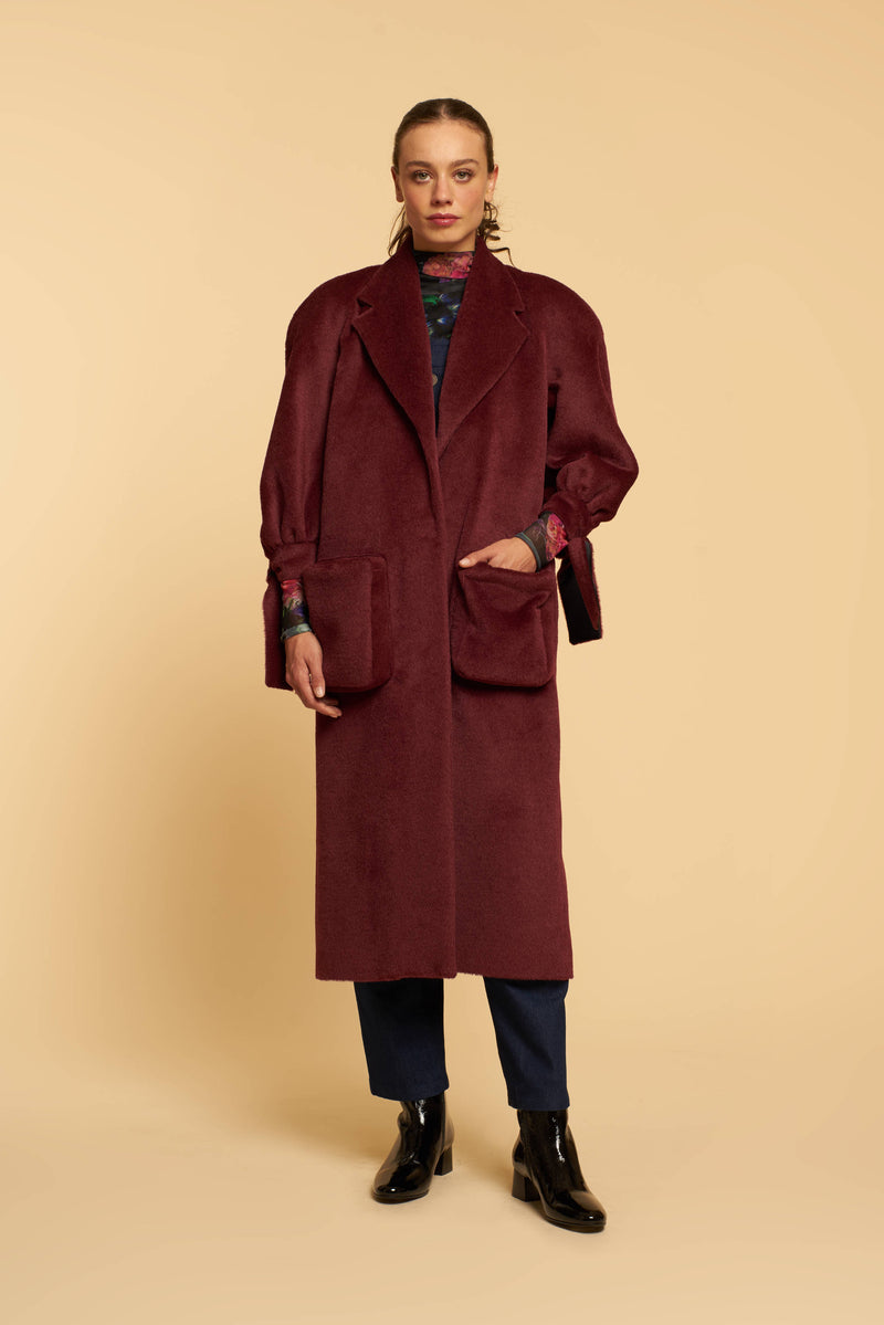 Manteau Ringo - Bordeaux