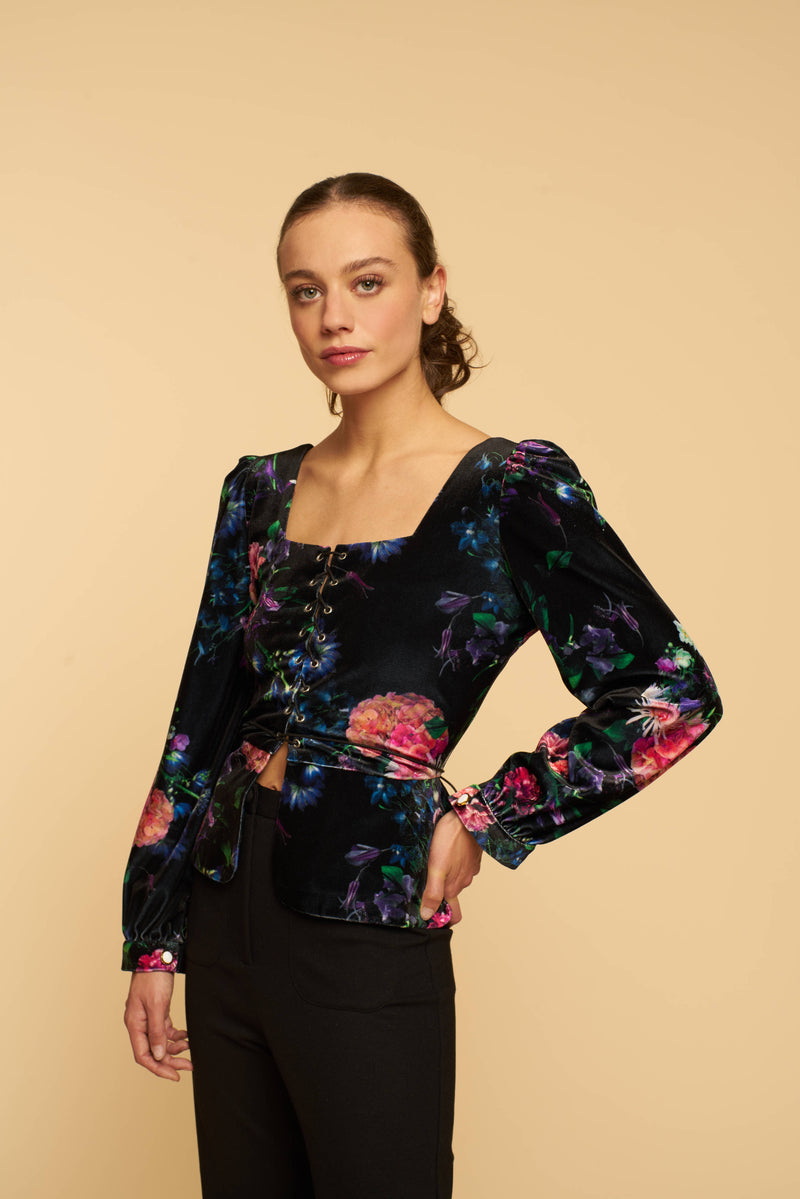 Blouse Bette - Velours Hortense