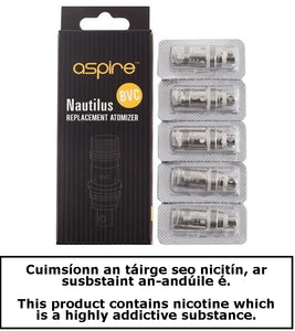 Aspire Nautilus coil (pack of 5)