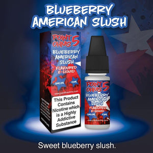 Point Five Ohms - Blueberry American Slush - 10ml