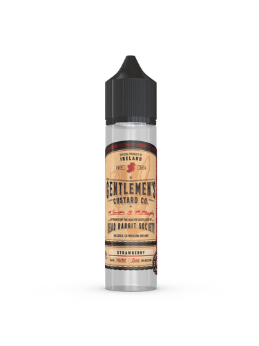 Gentlemen's Custard - Strawberry - 50ml