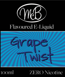 Grape Twist McB 50ml E-liquid