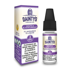 Dainty's Blackcurrant and Grape 10ml