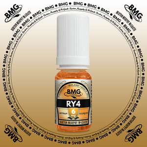 BMG eJuice, tobacco flavoured with 6mg nicotine