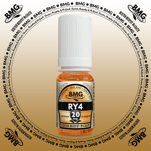 BMG eJuice, tobacco flavoured with 20mg nicotine