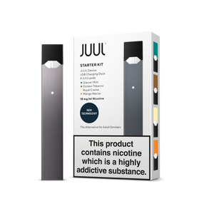 Juul Starter Kit - 4 Pods Incl