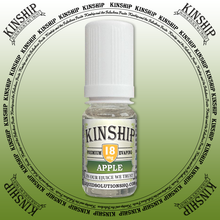 Kinship eJuice, Apple flavoured with 18mg nicotine.
